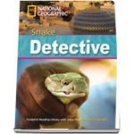 The Snake Detective. Footprint Reading Library 2600. Book with CD ROM