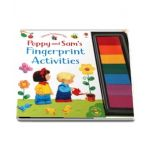Poppy and Sams fingerprint activities