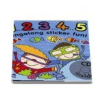 1 2 3 4 5 Singalong Sticker Book with CD