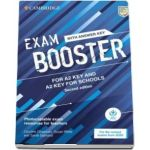 Exam Booster for A2 Key and A2 Key for Schools with Answer Key with Audio for the Revised 2020 Exams