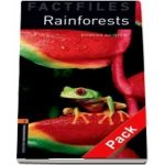 Oxford Bookworms Library Factfiles Level 2. Rainforests audio CD pack