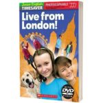 Live from London! (with DVD), Scholastic