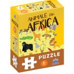 Animale din Africa - puzzle, DIDACTICA PUBLISHING HOUSE