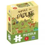 Animale din padure - puzzle, DIDACTICA PUBLISHING HOUSE