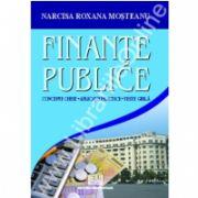 Finante publice (concepte cheie, aplicatii practice, teste grila)