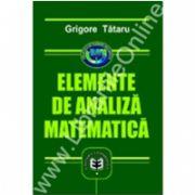 Elemente de analiză matematică