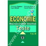 Economie. Teste, Volumul II, Macroeconomie deschisă