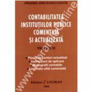 Contabilitatea Institutiilor Publice Comentata Si Actualizata