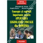 Concepte si expresii importante pentru aplicarea legislatiei fiscale din Romania