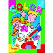 Seria COLOR Albinuta - carte de colorat cu site Internet