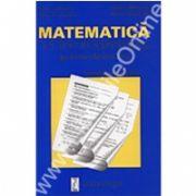Matematică - un test pe saptămână - clasa a V-a, semestrul al II-lea