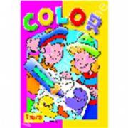 Seria COLOR Pestisorii - carte de colorat cu site Internet
