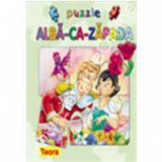 Seria Povesti cu puzzle : ALBA CA ZAPADA