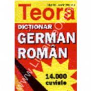 Dictionar german - roman 14000 cuvinte