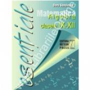 Matematică - algebră clasele IX - XII
