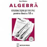 Algebră - exerciţii şi probleme pentru clasa a XI-a