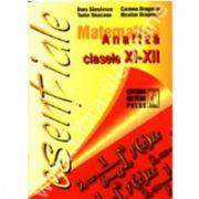 Matematică - analiză clasele IX-XII