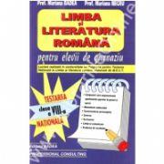 Limba si literatura  romana. Testarea nationala