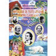 Antologie de texte literare pentru clasele I-IV -  Autori romani