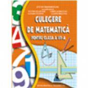 Culegere de matematica VII