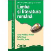LIMBA ŞI LITERATURA ROMÂNĂ clasa a X-a Scoala de arte si meserii