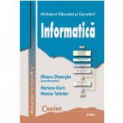 Informatica manual pentru clasa a IX-a - Mioara Gheorghe