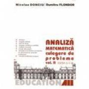 ANALIZA MATEMATICA. CULEGERE DE PROBLEME. Vol. 2