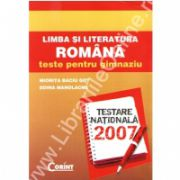 Limba si literatura romana teste pentru gimnaziu 2007 - Got
