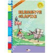 Elemente grafice - caiet grupa mare pregatitoare 5-6 ani