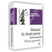 MANUAL DE DREPT PENAL - Partea generala