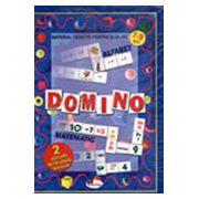 Domino (limba romna si matematica). Clasele I-II a