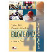 Educatie civica. Caietul elevului clasa a IV-a (Tudora Pitila)