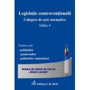 Legislatie contraventionala. Culegere de acte normative, Editia a V-a.