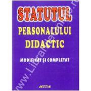 Statutul personalului didactic
