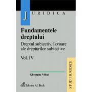 Fundamentele dreptului, vol. IV