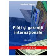 Plati si garantii internationale