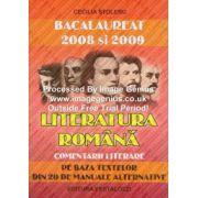 Bacalaureat 2008 Literatura Romana. Comentarii Literare