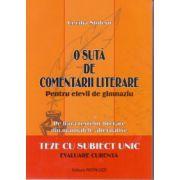 O suta de comentarii literare - Cecilia Stoleru