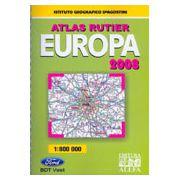 ATLAS RUTIER - EUROPA 2008