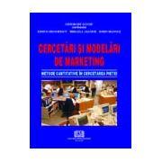Cercetări şi modelări de marketing - Metode cantitative în cercetarea pieţei