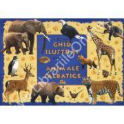 Ghid ilustrat pentru cei mici despre ANIMALE SALBATICE