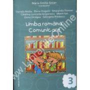 Limba romana. Comunicare pentru clasa a III-a