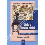 Limba si literatura romana pentru clasa a V-a. Evaluare curenta
