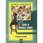 Limba si literatura romana pentru clasa a VI-a. Evaluare curenta