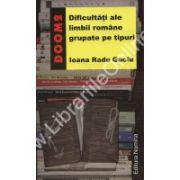 Dificultati ale limbii romane grupate pe tipuri - DOOM 2
