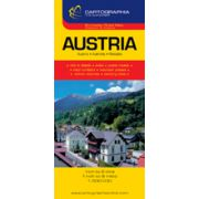 Hartă rutieră Austria