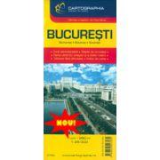 Hartă rutieră Bucureşti NOU