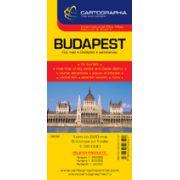 Hartă rutieră Budapesta