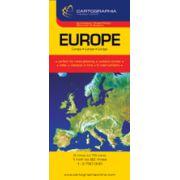 Hartă rutieră Europa