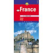 Hartă rutieră Franta